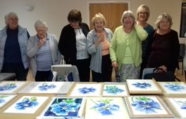 Watercolour Workshop in Bramcote